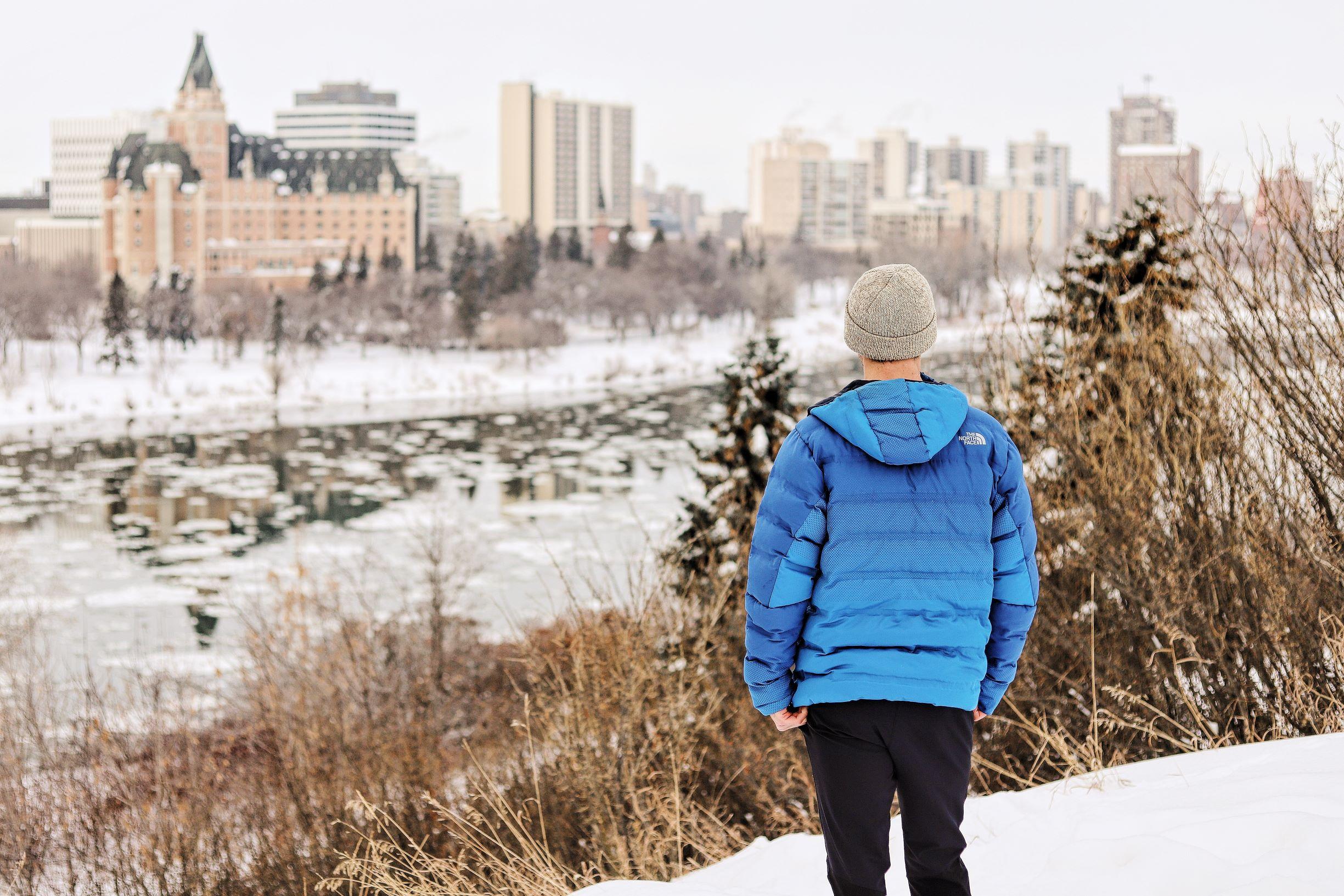 LeClair Media Commercial Photography Shoot Saskatoon, winter lifestyle photography shoot for Ground Yoga